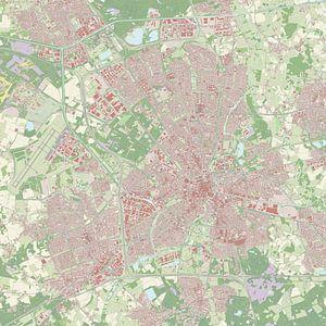 Kaart vanEindhoven