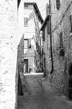 Straße in Passignano sul Trasimeno von Chantal Koster