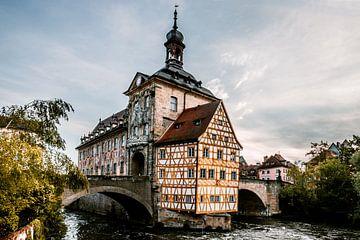 Brücken Radhaus in Bamberg deutschland Bayern von Fotos by Jan Wehnert