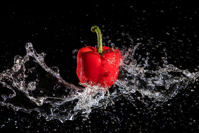 Paprika Splash van Christel Bekkers