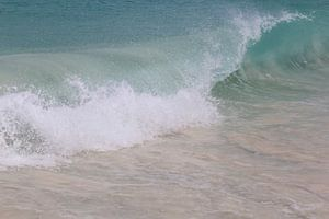 Turquoise golven