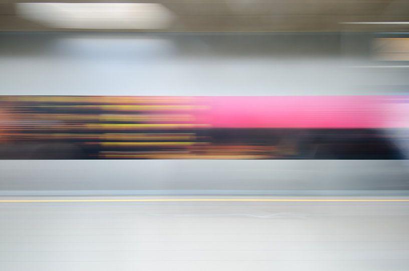 Abstracte fotografie 3 van Mark Bolijn