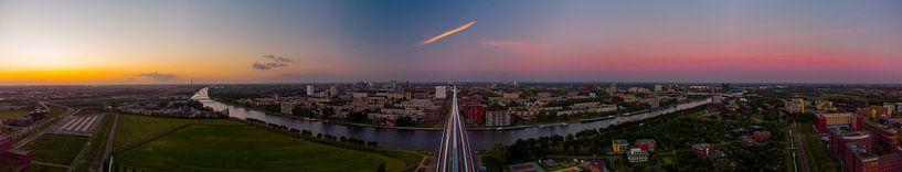 Utrecht in sunset van Nildo Scoop