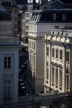 Straat in Brussel van Christophe Fruyt
