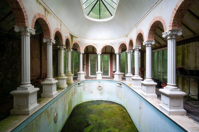 Verlaten Zwembad. van Roman Robroek
