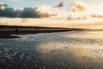 Zonsondergang aan zee van MICHEL WETTSTEIN
