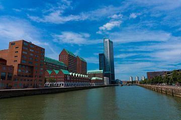 Moderne architectuur in Rotterdam, Kop van Zuid sur Xandra Ribbers