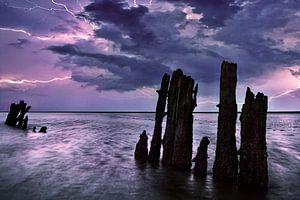 Onweer Waddenzee, Nederland