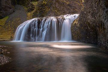 Stjornarfoss in zuid IJsland, een verborgen pareltje van Gerry van Roosmalen