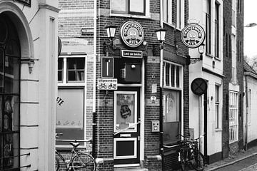Groningen in wit en zwart van Merjan Merjan