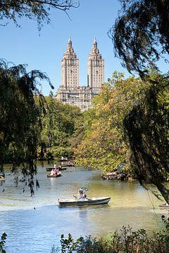 Nostalgic diver in Central Park, New York von Arie Storm