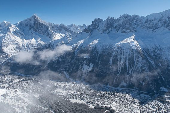 Chamonix im Mont Blanc-Tal