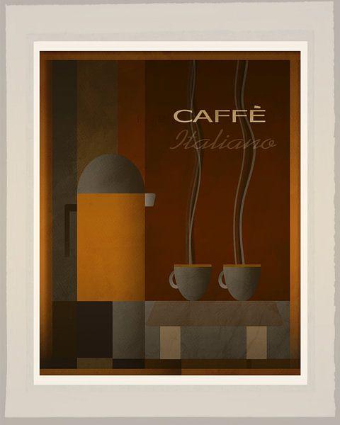 Caffe Italiano - Art Deco van Joost Hogervorst