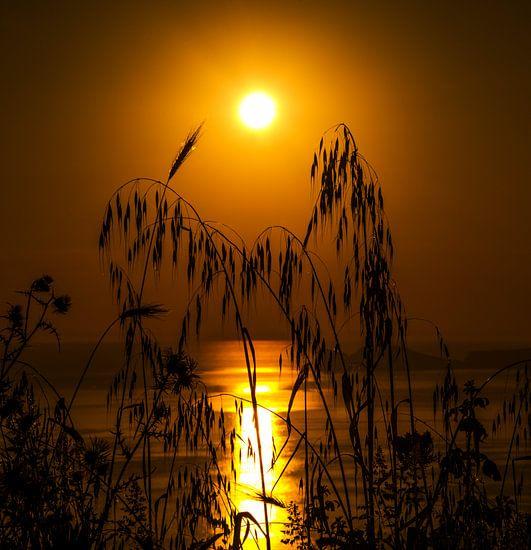 Zonsondergang van Harrie Muis