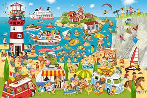 Sommer, Strand und Camping