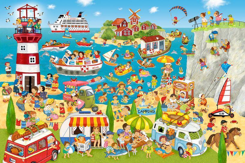 Sommer, Strand und Camping von Marion Krätschmer