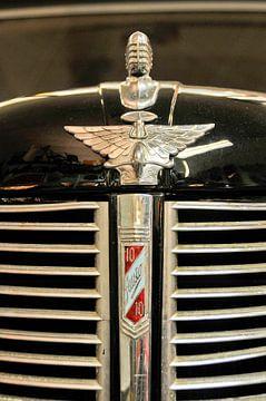 Front eines Austin 10 Saloon aus dem Jahr 1946 von Lars-Olof Nilsson