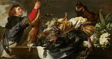 Nature morte avec Huntsman, Frans Snyders