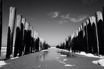 Strand bei Oostkapelle (Zeeland, Niederlande) von Femke Looman
