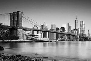 Brooklyn Bridge van Marieke Borst