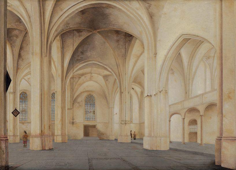 Rhenen, Inneres der Kirche von Cunera, Pieter Jansz. Saenredam - 1655 von Atelier Liesjes