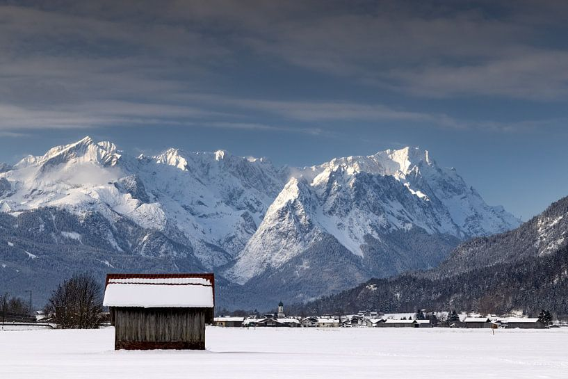 Winterstimmung bei Farchant von Andreas Müller