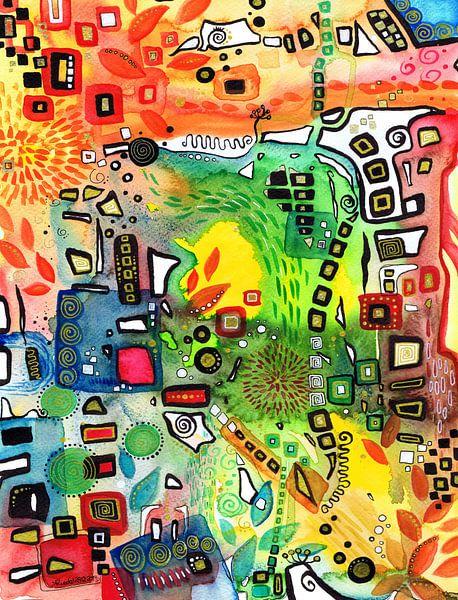 Ego-Transformation 02 van Sandra Riedel ( SaRidie-arts)