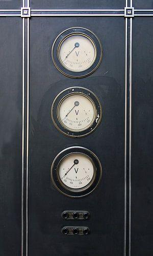 industriele volt meters van