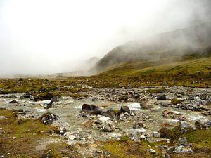 'Inca route', Peru van
