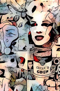 Marilyn von zam art