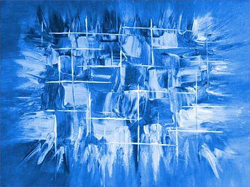 Explosion blau von Katrin Behr