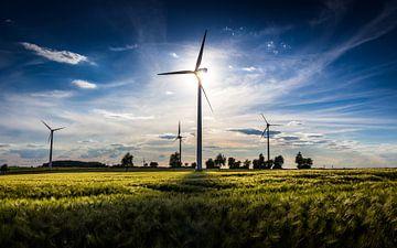 Windräder Windpark von Thomas Procek