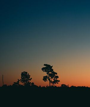 Zonsondergang van Bas Glaap