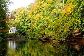 Herfst op landgoed Zijpendaal van Bob Bleeker