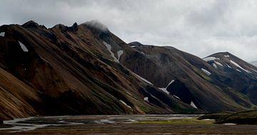 IJsland - Landmannalaugar von Willem van den Berge