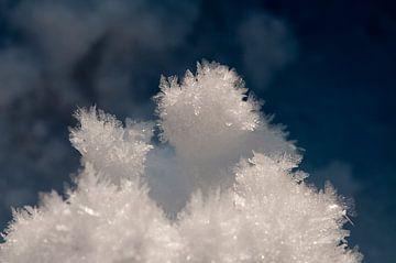 macro van ijskristallen van Compuinfoto .