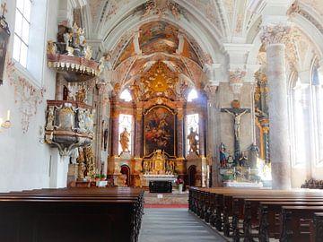 Rattenberg kerk Oostenrijk van Joke te Grotenhuis