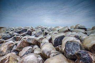 winter aan de dijk van Robin Smit