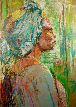 Surinaamse vrouw van Liesbeth Serlie
