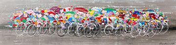 cyclistes sur Atelier Paint-Ing