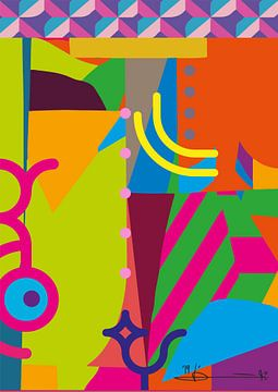 Colors of live van Daisy Kox