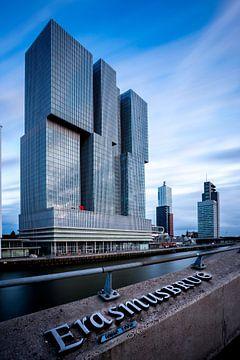 De Rotterdam met extreem lange sluitertijd sur