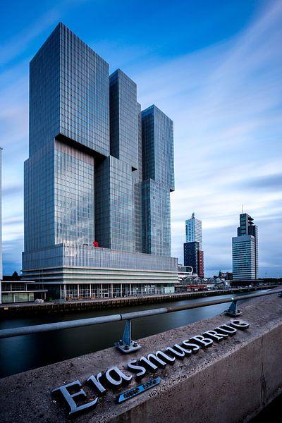 De Rotterdam met extreem lange sluitertijd van Prachtig Rotterdam
