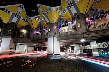 Les maisons en cube de Rotterdam sur Eddy Westdijk