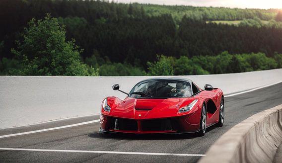Ferrari LaFerrari op Circuit Spa Francorchamps van Ansho Bijlmakers