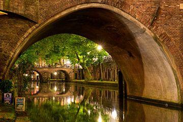 Utrecht Oudegracht: Hamburgerbrug von Martien Janssen