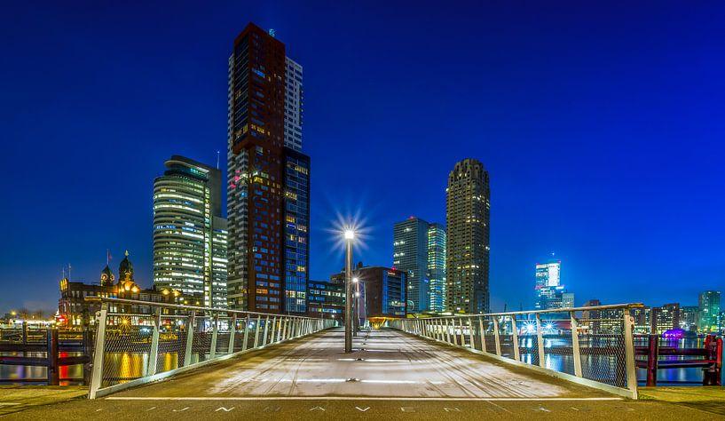 De Rijnhavenbrug in Rotterdam van MS Fotografie | Marc van der Stelt