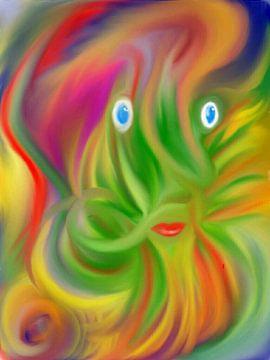 Farbenrausch von Simone Mikeler