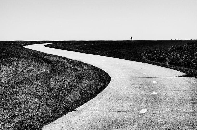 Eenzame fietser van marjolein Parijs