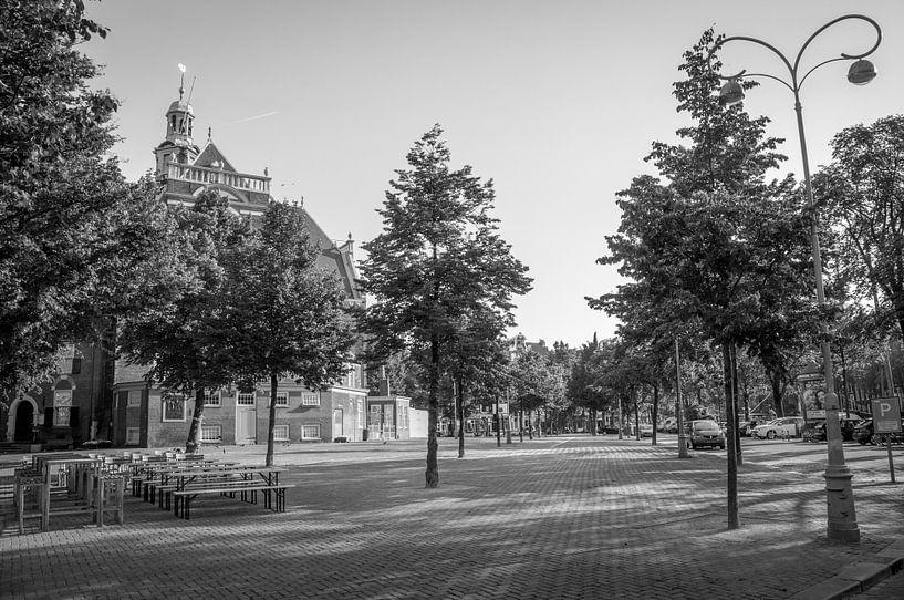 Noordermarkt - Noorderkerk van Hugo Lingeman